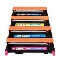 4 adet/grup Samsung CLT-K406S C406S M406S Y406S 406 S 406 Toner Kartuşları CLP-365W CLX-3305FW Xpress C410W C460FW