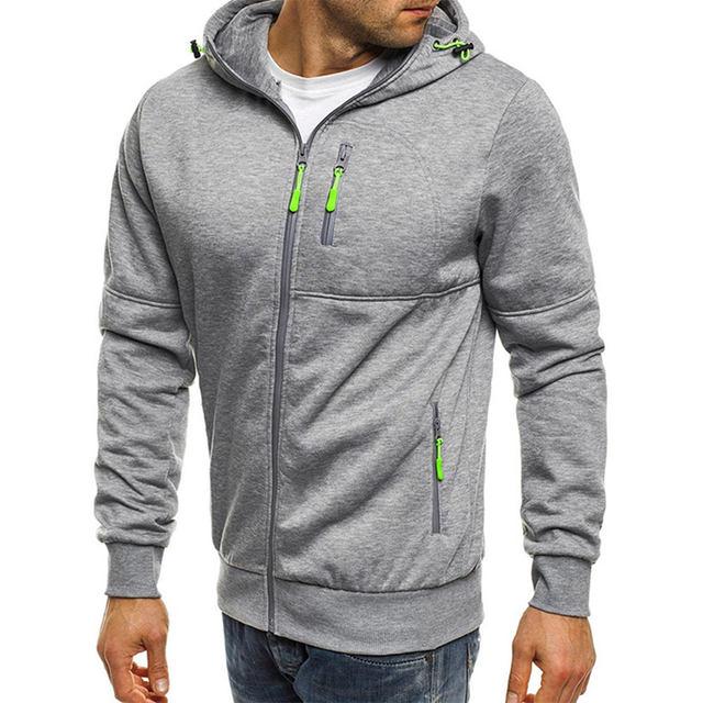 Mens Hoodies Coat Hoodie Spring Autumn Sportswear