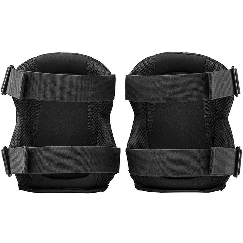 Black Knee Protection Pads Protection For Sport Garden