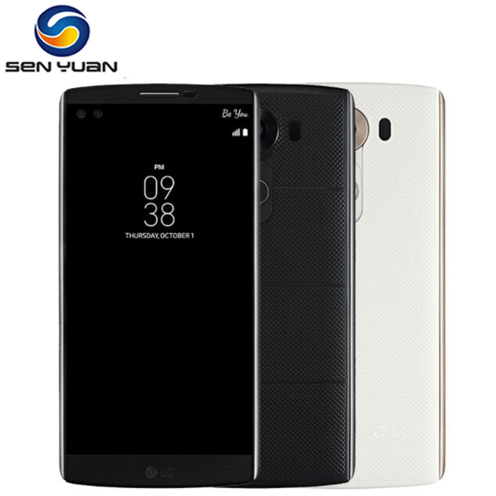 Оригинальный разблокированный LG V10 H900 H901 F600 4 аппарат не привязан к оператору сотовой связи Android мобильный телефон шестиядерный 5,7 ''16.0MP 4 Гб О...