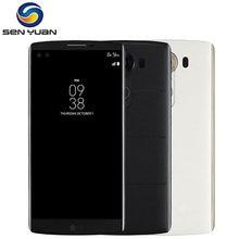 オリジナルロック解除lg V10 H900 H901 F600 4 4g lteのandroid携帯電話ヘキサコア5.7 ''16.0MP 4ギガバイトram 64ギガバイトrom wifi gps携帯電話