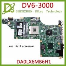 цена на KEFU 615280-001 for HP DV6 DV6-3000 Laptop motherboard  DA0LX6MB6G1 DA0LX6MB6H1 Test ORIGINAL 100% work
