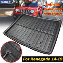 Tailored Rear Trunk Boot Liner Cargo Floor Mat Tray Protector Dog Pad For Jeep Renegade 2014 2015 2016 2017 2018 2019