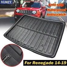 Tapis de sol pour chien pour Jeep Renegade, revêtement de botte arrière de coffre de cargaison sur mesure, pour 2014, 2015, 2016, 2017, 2018 et 2019