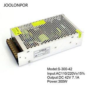 Image 5 - מיתוג אספקת חשמל Ac 110V 220V כדי Dc 36V 40V 42V 5A 6A 7A 200W 250W 300W מנוע מתח רגולציה נהג אספקת חשמל