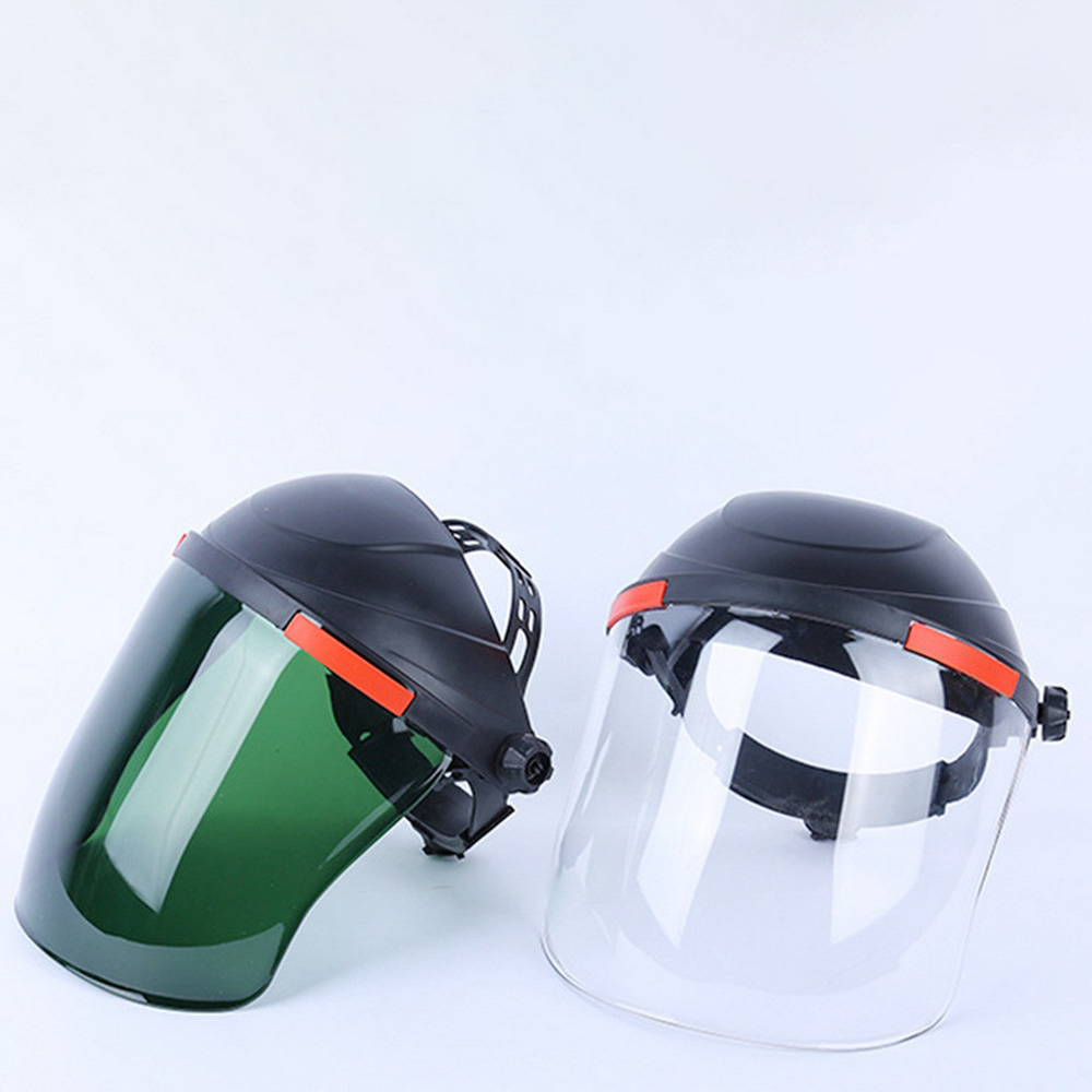 Protective Mask Electric Welding Helmet Face Shield Dustproof Gas Mask Outdoor Safety Work Heads Welding Glasses Tool