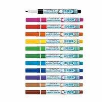 12 PCS Permanent Peinture Marqueurs Fine Point 1 mmPainting Stylo Pour Papier permanent en caoutchouc peinture marqueurs étanche à base d'huile de couleur