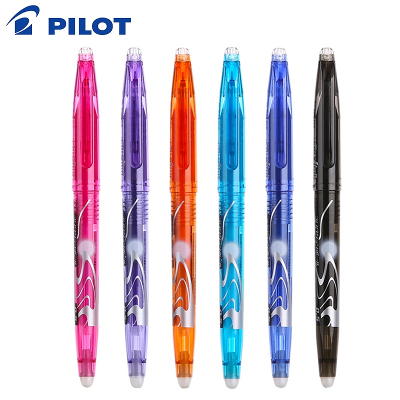 Pilot Frixion 3 pcs/set Erasable Colored Gel Pen Erasable Writing Pen Gel Ink Pens Office Stationery Ballpoint 0.5 mm LFB-20EF marksojd