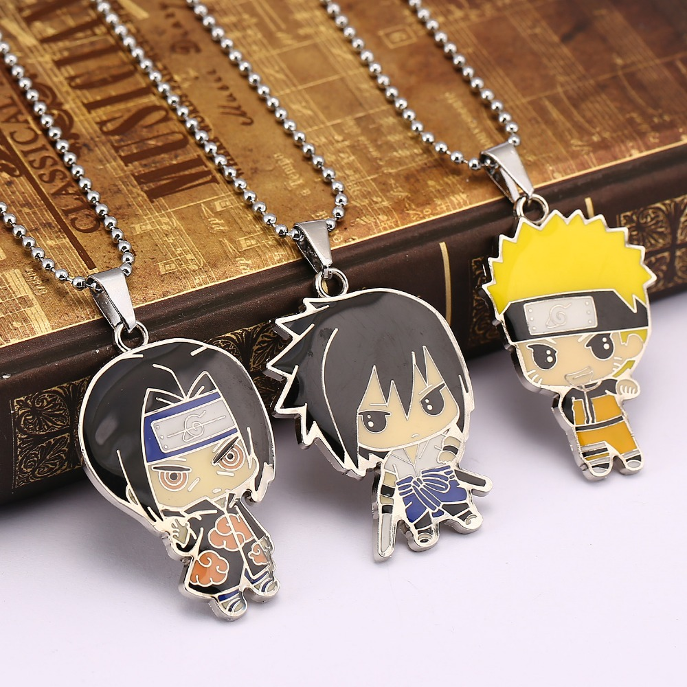 Naruto Necklace Sasuke Pendant Uchiha Itachi Necklaces Jewelry Ys12047  Naruto Merchandise Shop