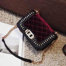 Kette Frauen Crossbody Marke Tasche frauen Verkauf Handtaschen Schulter Plaid Messenger Für Frauen 2016 Damen Handtasche Designer