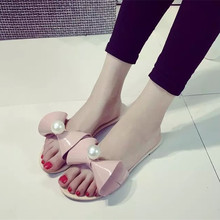 Flat slippers women's shoes Korean version of sweet petunia slides sandals and slippers sandals and slippers comfort women
