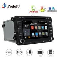 Podofo 2 Din Android 7 1 Car Audio Car DVD Player GPS Navigation Multimedia Player Autoradio