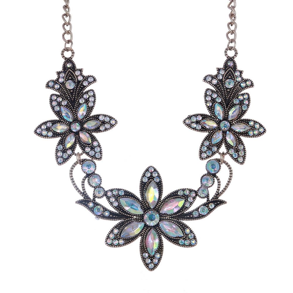19 Fashion Designer Chain Choker Statement Necklace Women Necklace Bib Necklaces & Pendants Gold Silver Chain Vintage Jewelry 27