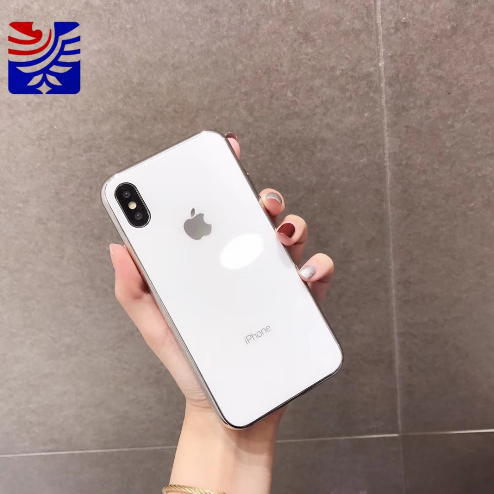 PEIPENG Luxury made of electroplated glass Anti-fall Phone Cases For iphone 6 6S 7 8 Plus X Xs Max Christmas gift Girl Simple and stylish13