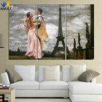 Streszczenie Płótnie Malarstwo malarstwo tancerze baleriny plakat na płótnie Wall Art Nr Oprawiona Dekoracji Mody Obraz F285