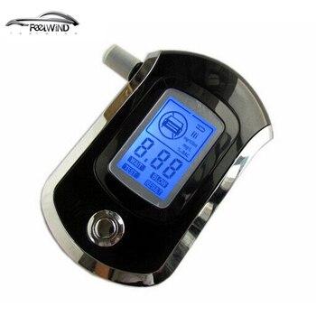 цена на Professional Police Digital Breath Alcohol Tester Breathalyzer AT6000