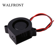 New 12V DC Cooling Air Fan Printer Accessories for 3D Print Hotend Extruder Air Blower 3d printer parts cyclops 2 in 1 out 2 colors hotend 0 4 1 75mm 12v 24v fan bowden with titan bulldog extruder multi color nozzle