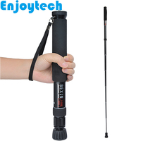 Aluminum Alloy Extendable Selfie Stick with Phone Holder for Iphone Xiaomi Huawei Android Phones Monopod for Gopro DSLR Cameras