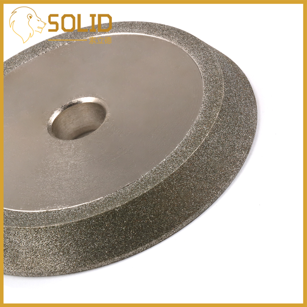 "78mm 3/"" Diamond Grinding Wheel Dish Circle Disc Carbide Cutter Grinder 200 Grit"