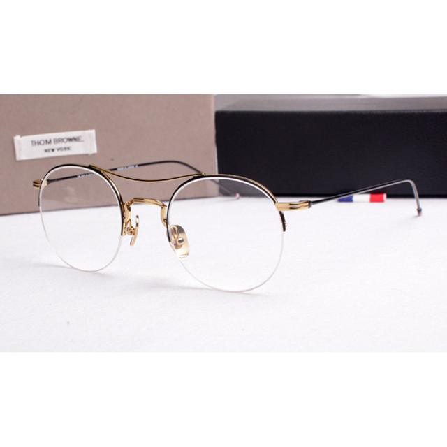 Hombres Gafas de Marco óptico Mujeres Thom Browne Ordenador Miopía Gafas de Montura de gafas Para Las Mujeres Mujer Hombre TB903 YQ201