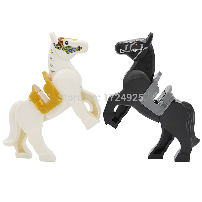 6cm Legoinglys Knight Horse Nazgul Horse Single Sale Assemblage Building Blocks Kids Educational Toys Gifts