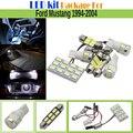 7 Unidades Paquete de Kit 5630 Chip LED Bombilla Interior Del Coche LED blanco Auto Mapa Cúpula de Luz de la Matrícula Para Ford Mustang 1994-2004