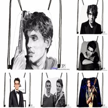 Custom John Mayer Quotes Drawstring Backpack Bag Cute Daypack Kids Satchel (Black Back) 31x40cm#180531-03-80