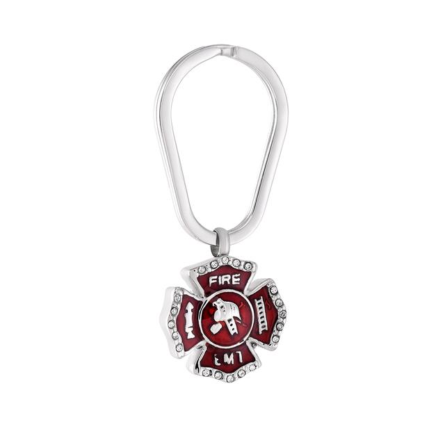 Fire EMT Keychain