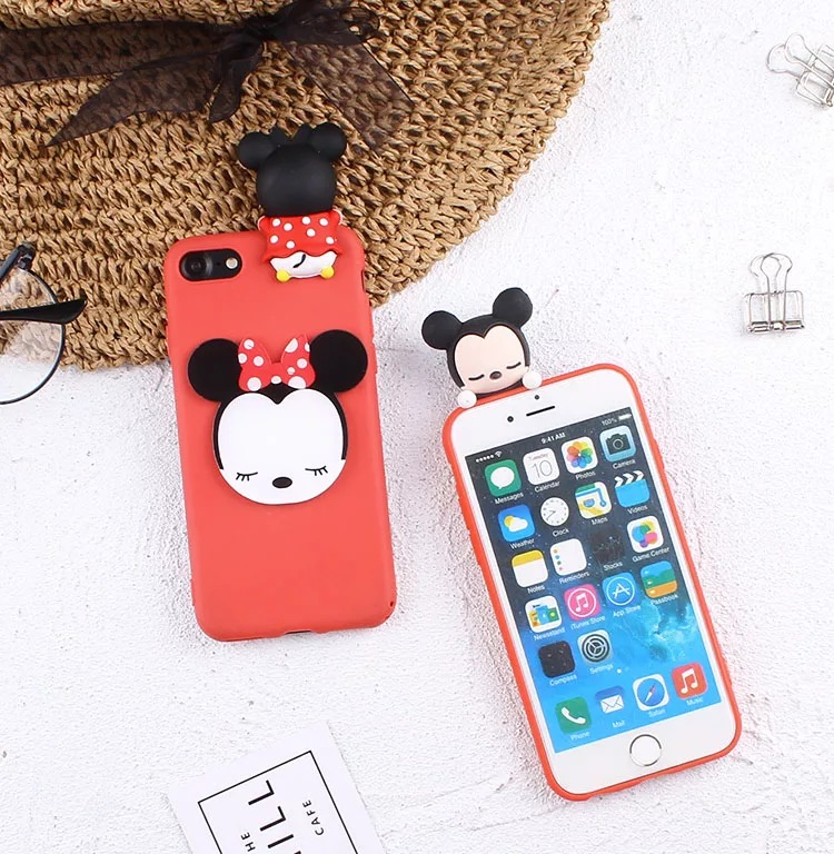 Back Covers For Xiaomi Redmi 5A Mi A1 Redmi Note 5A 3D Dolls Minnie Pooh  Daisy Case For Red Mi 4A 4X 5X Phone Cases
