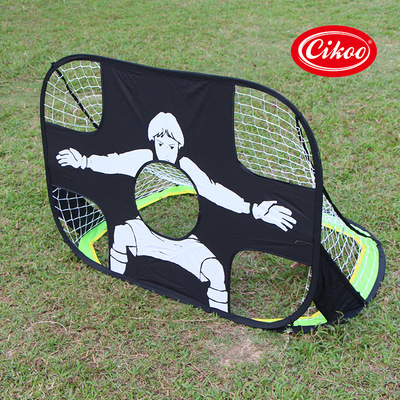 ФОТО Portable Sample Goal Easy to Take Saving Space Beach Grass Soccer Football Game Shooting Accuracy Training for Children Adult