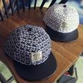 Etiqueta carta Niños Snapback Cap Hip Hop Cap Snap Back niños de la manera gorra de béisbol Del Casquillo Del Snapback Sombreros sombrero de los niños del deporte envío de la gota