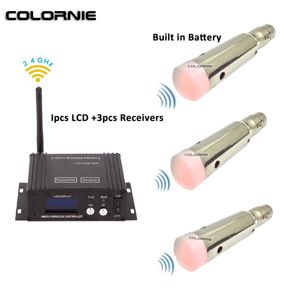 2.4g Wireless Dmx 512 Controller And Rechargable Battery Powered Wireless Receiver Dmx Lighting Console For Moving Head Beam2.4g Wireless Dmx 512 Controller And Rechargable Battery Powered Wireless Receiver Dmx Lighting Console For Moving Head Beam