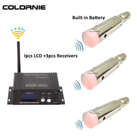 2.4g Wireless Dmx 512 Controller And Rechargable Battery Powered Wireless Receiver Dmx Lighting Console For Moving Head Beam