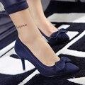 6 cm talón Señaló zapatos de Tacón Alto Zapatos de Trabajo de Las Mujeres Zapato de La Boda de dama de Honor Bombas sy-1734