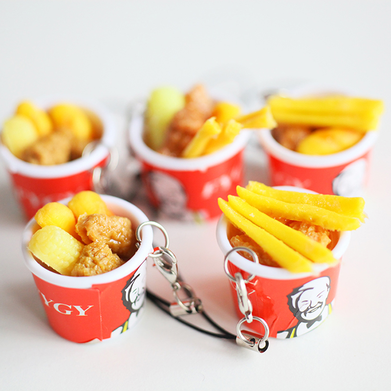 Kfc Toy Food : Pcs dollhouse miniature kfc bucket fast food doll