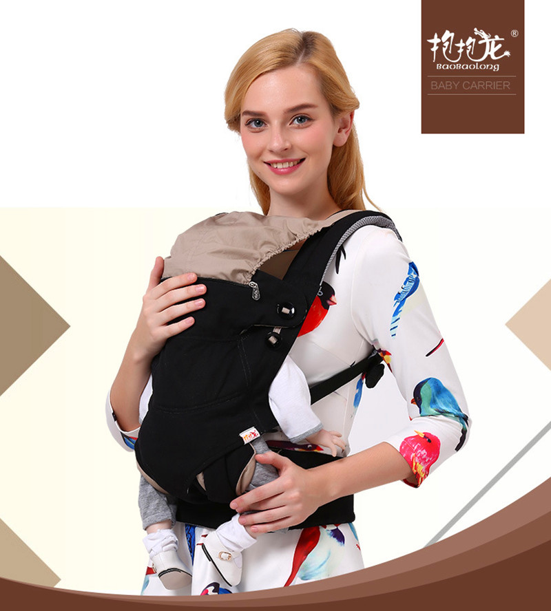 ФОТО  New Multifunctional baby carrier organic cotton newborn wrap sling baby backpacks adjustable kids baby carrier sling carriage