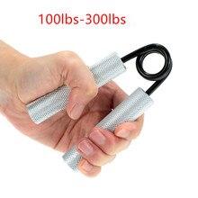 100-300lbs тяжелая рука фитнес-Захваты карпальный усиленный расширитель для фитнеса предплечья руки мышечный палец захват тренажер Сила