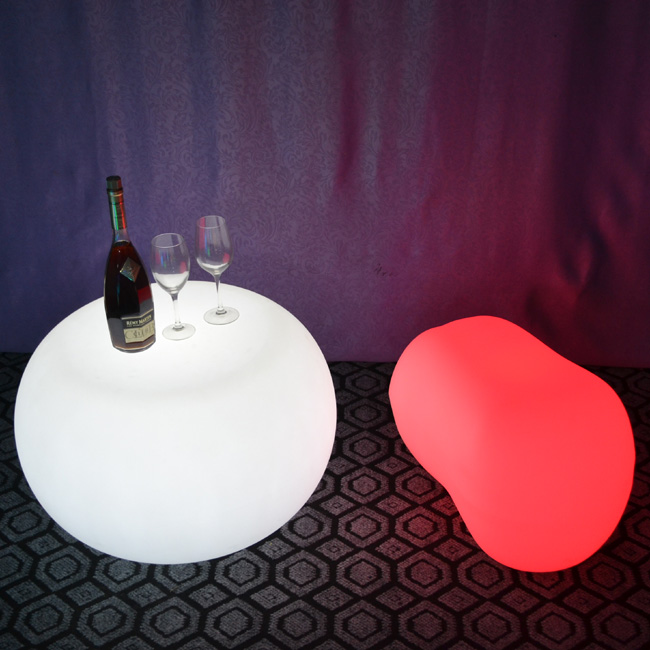 Skybess SK-LF35M (L65*W38*H37cm) Rechargeable LED Bar Stool Chair LLDPE Material Home Furniture Table Chair for Event Party 1pc sk lf06c rgb ip65 rechargeable led illuminated table lamp night light cube chair for club bar ktv pub hotel party event 1pc