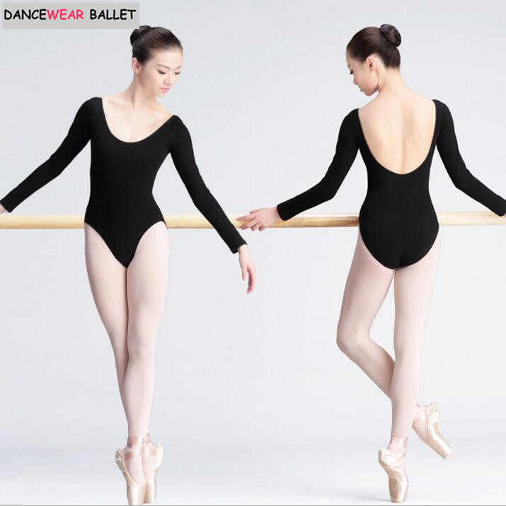 41c80bf9c Detail Feedback Questions about Women Black Long Sleeve Leotard Sexy ...