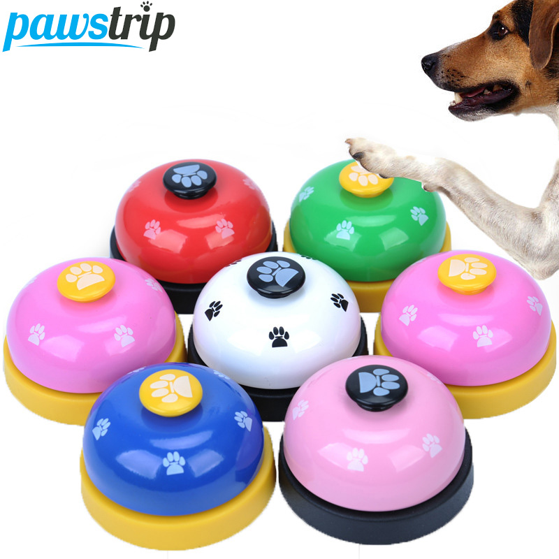 Pawstrip 1 шт. звонок собака игрушки кормления Ringer Обучающие интерактивные игрушки кошки Диаметр 2,8 дюйма ...
