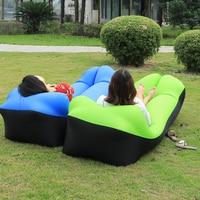 Hot Sale Outdoor Portable Beach Lazy Air Sofa Fold Fast Inflatable Sofa Bed Air Sofa Sleeping