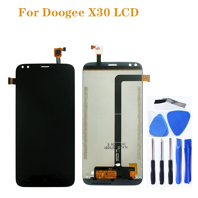 "Image 1 - 5.5"" for Doogee X30 LCD display + Touch Panel Digital Converter Repair Parts Replace for Doogee X30 LCD Phone Accessories +Tools-in Mobile Phone LCD Screens from Cellphones & Telecommunications"