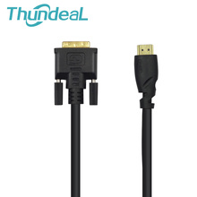ФОТО Universal Reverse Transformation 5FT 15M DVI TO HDMI Compatibility HDMI to DVI DVI-D 241 Pin Adapter DVD HDTV XBOX Projector