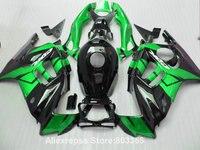 Verde + negro Carenados para HONDA CBR 600 F3 1996 cbr 1995-600 (de encargo libre) kit de carenado 95 96 xl38