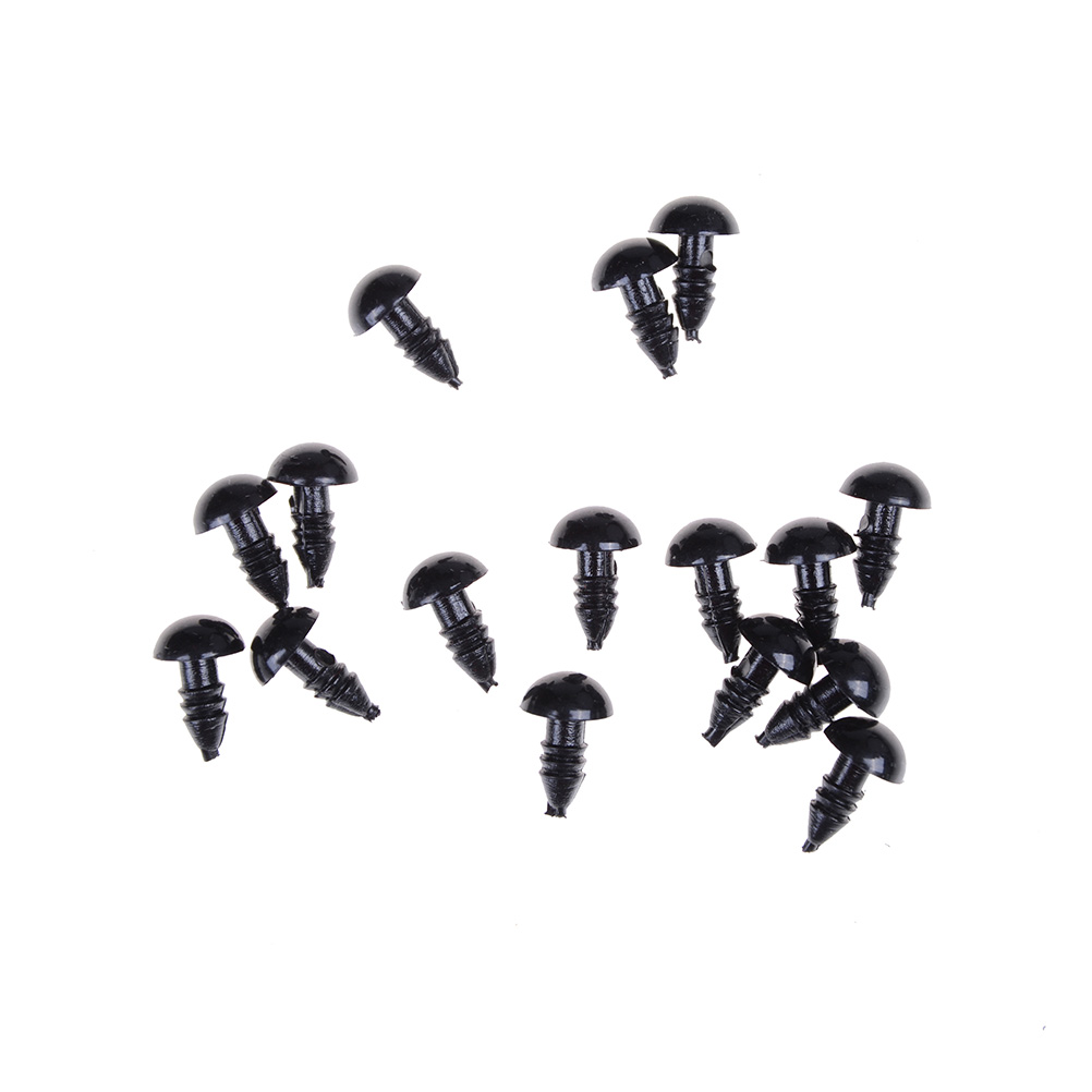 Top Quality 100Pcs/Set 6/8/10/12mm Doll Animal Puppet Toy Plastic Safety Eye For Teddy Bear