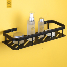 купить bathroom Shelf black 304 stainless steel  Shampoo Soap Cosmetic Shelves Bathroom Accessories Storage Organizer Rack Holder дешево