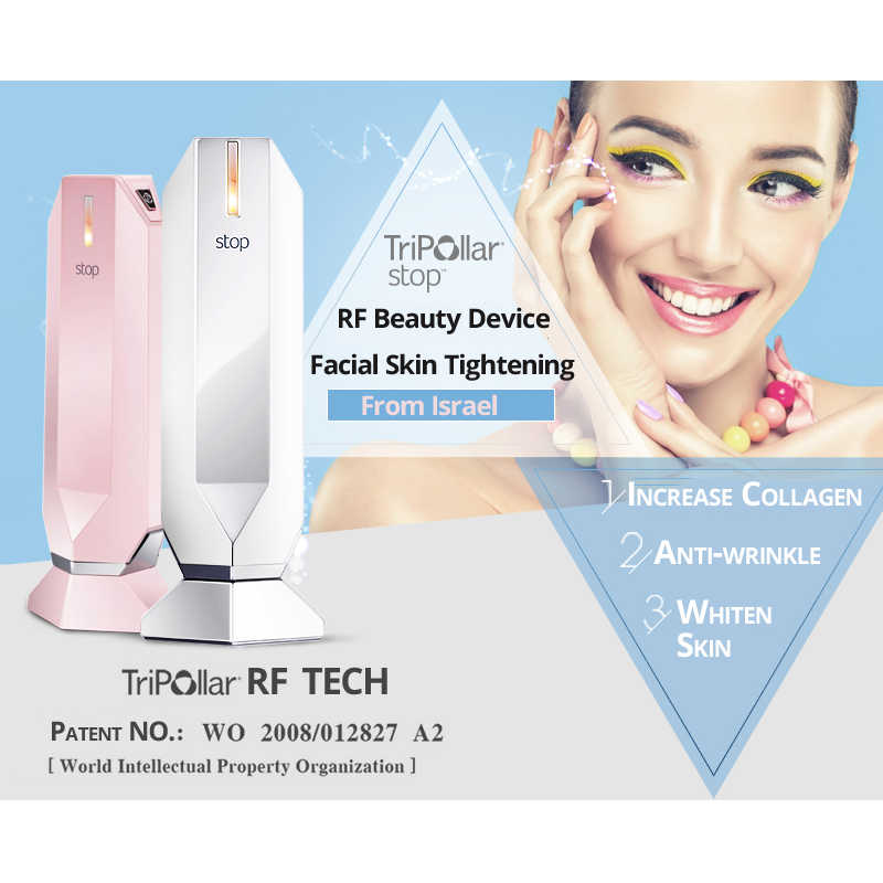 Home Use Tripollar Rf Beauty Device Facial Skin Tightening Remove Wrinkles Improve Dermal Collagen Whiten Face Skin Anti Aging Home Use Beauty Devices Aliexpress