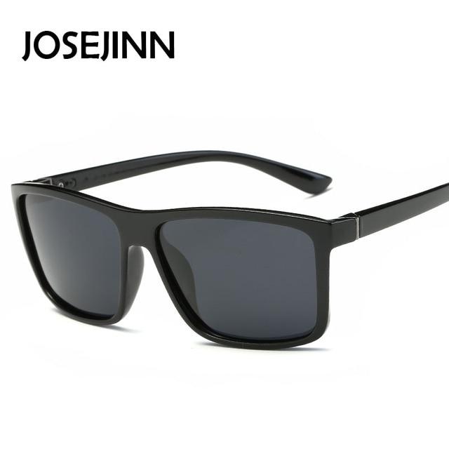 Men Polarized Driving Sunglasses Vintage Rectangle Sunglass Sun glasses  Rectangular Retro oculos de sol Eyewear c4045bc882