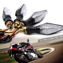 Motorcycle Super Bright 19v LED Turn Signal Lights Indicators For Honda CBR 600 F2 F3 F4 F4i CBR600RR dio x adv turn signals стоимость