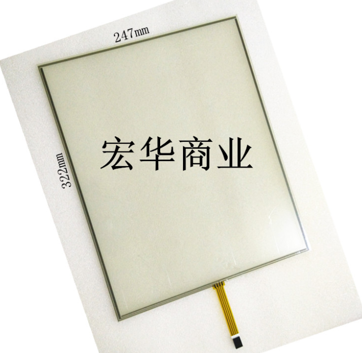 15'' inch resistive touch screen four-wire mouth DuPont interface 2.54 pitch 322 * 247 industrial control screen стоимость